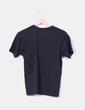 Camiseta negra manga corta JHK