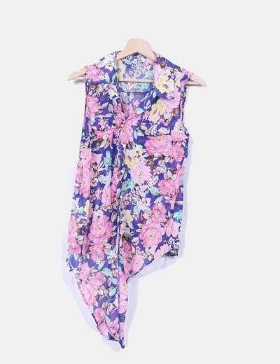 Blusa floral detalle nudo  NoName