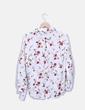 Camisa blanca estampado floral Armonias