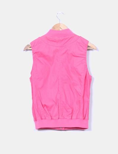 Chaleco rosa fucsia