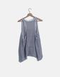 Blusa de rayas azul marina Risskio