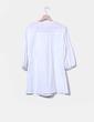 Vestido blanco con bordado An Gel