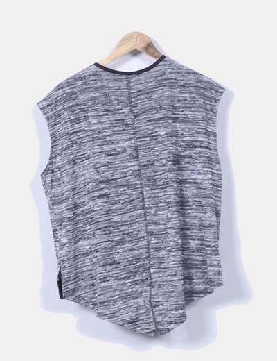 Jersey gris jaspeado