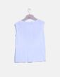 Camiseta blanca con bordado Tintoretto