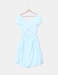 Vestido azul celeste  Springfield
