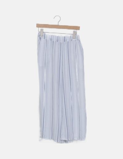 Pantalón baggy raya vertical