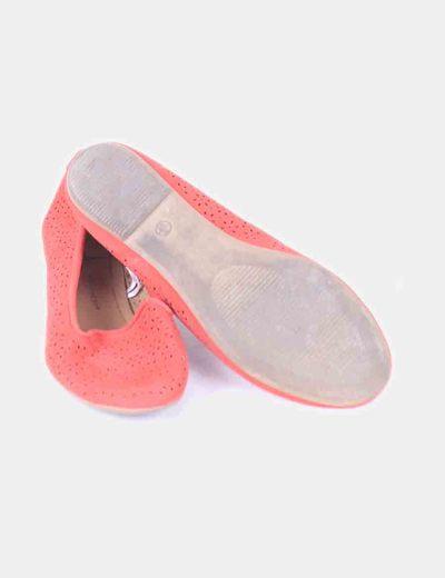 Slippers rojos calados