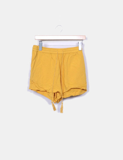 Shorts moutarde H&M