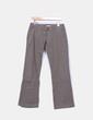 Pantalón verde kaki texturizado Ichi