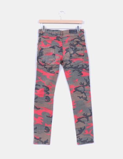 Jeans camuflaje