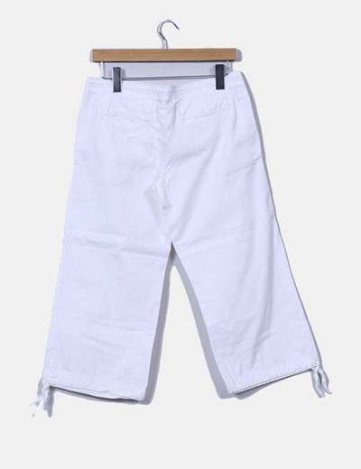 Pantalon pirata blanco
