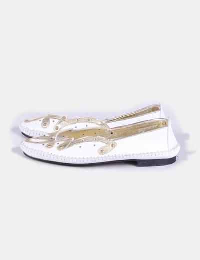 Zapato plano bicolor NoName