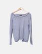 Suéter tricot gris Laetitia Mem