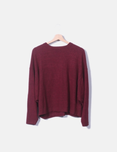 Jersey rojo oversize