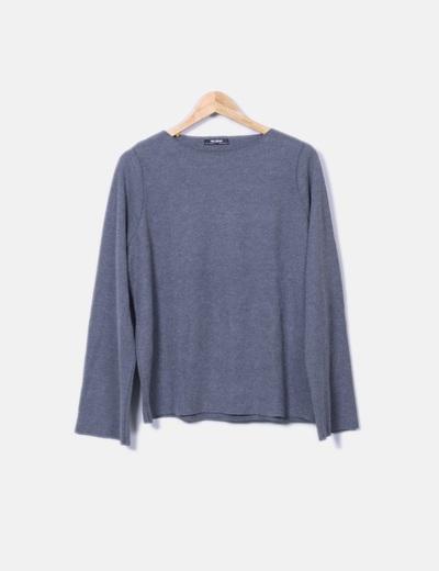 Sudadera gris oscura Zara
