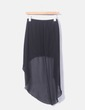Falda de gasa negra Amisu