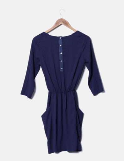 Vestido azul marino easy wear
