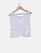 Chaleco blanco crochet  Lola Valdueza