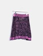 Asymmetrical pink patterned skirt Desigual