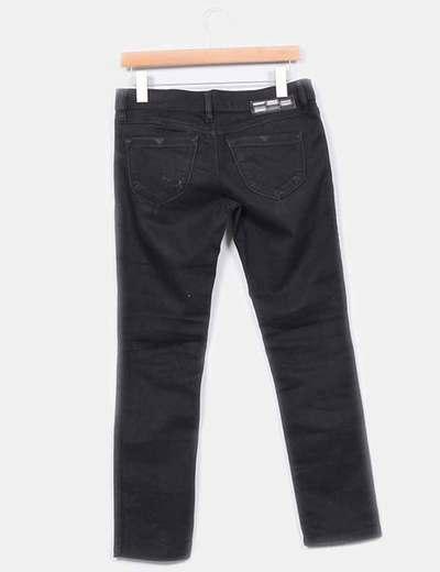 Jeans super slim negro