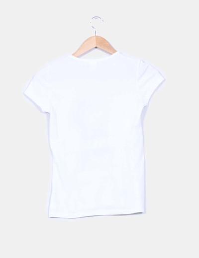 Camiseta manga corta doble textura