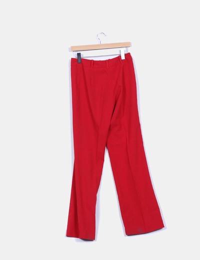 Pantalon recto detalle cintura