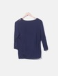 Camiseta azul marino estampado Desigual