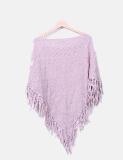 Pocho tricot rosa