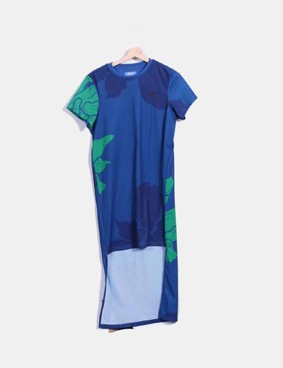 Vestido manga corta asimétrico ADIDAS Adidas