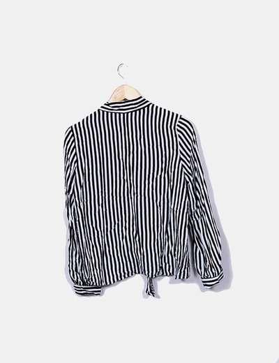 Blusa de rayas manga larga