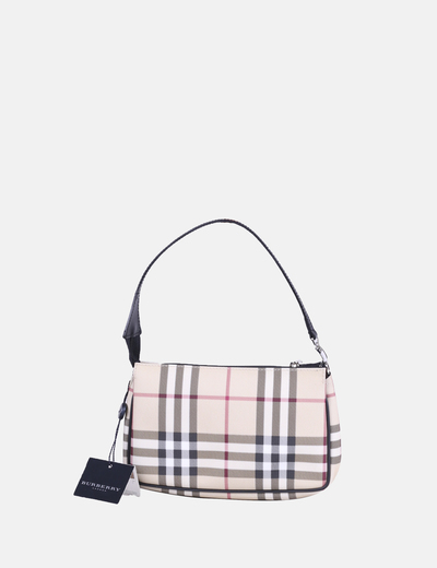 Bolso mini de cuadros Burberry