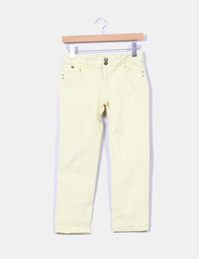 Pantalon pirata amarillo