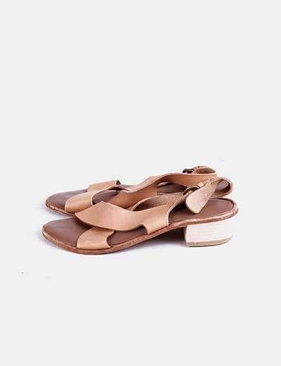 Chaussures beiges à talons NoName