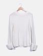 Jersey punto blanco Zara