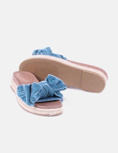 Azules Sandalias Sandalias Azules Terciopelo Terciopelo Azules Sandalias ym0Onv8wN