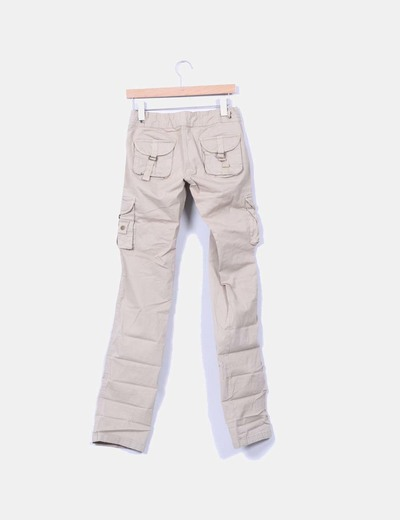 Pantalon cargo safari