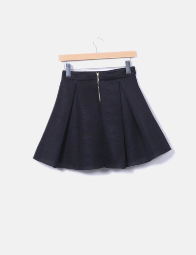 Minifalda negra tablas