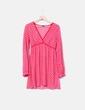 Camisola rosa con lunares rojos H&M