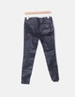 Jeans denim negro encerado Zara