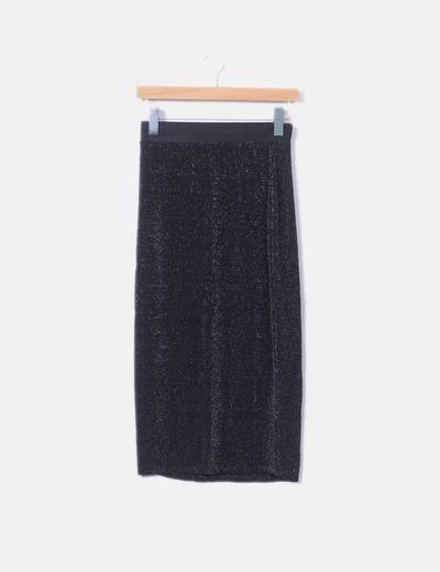 Miss Selfridge midi skirt