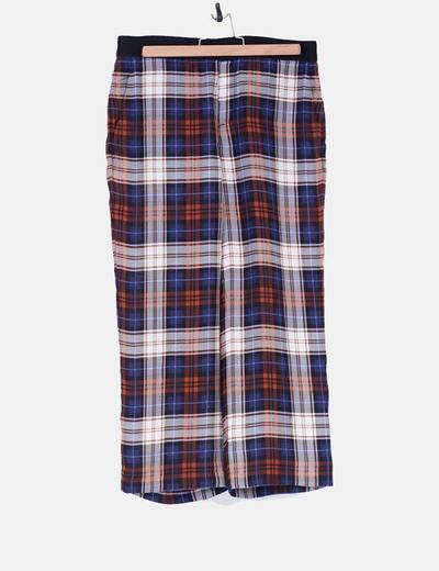 Pantalones fluidos cropped Zara