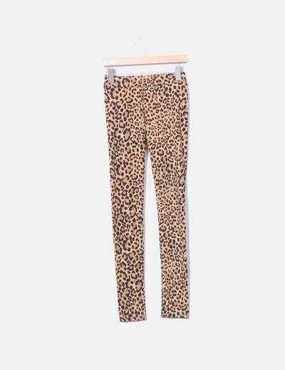 Leggings print leopardo