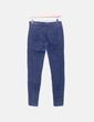 Skinny dunkle Jeans Bershka