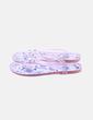 Sandalia rosa semitransparente con strass Gioseppo