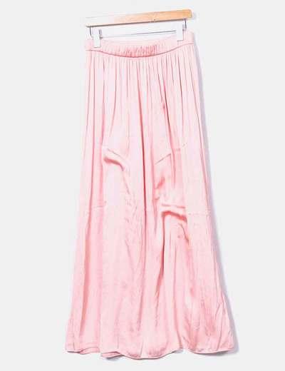 cfe4d7d15 Maxi falda rosa
