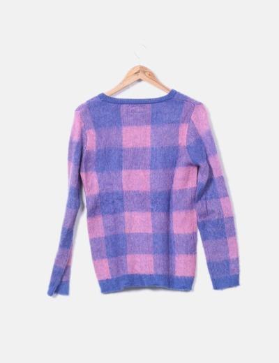 Jersey lana cuadros