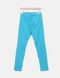 Jeans turquesa Massimo Dutti