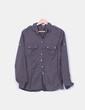 Camisa gris marengo manga larga Amisu