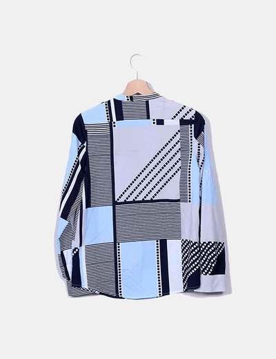 Camisa tonos azules