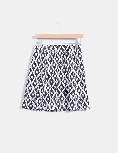 Minifalda skater texturizada Soyaconcept